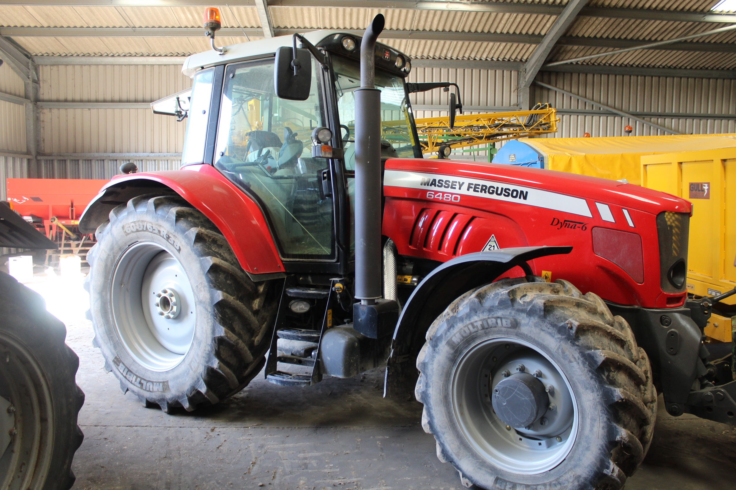 Lower Portland Farm, Burwell, farm machinery sale
