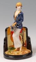 Lot 3 - Peggy Davies Ceramics - La Chic, artists proof...