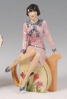 Lot 7 - Peggy Davies Ceramics - Clarice Teatime,...