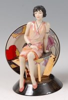 Lot 11 - Kevin Francis Ceramics - Young Clarice Cliff...