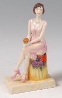 Lot 15 - Peggy Davies Ceramics - Precious Moment,...