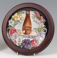 Lot 18 - A contemporary Moorcroft Pottery Centenary...