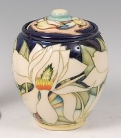 Lot 20 - A contemporary Moorcroft Pottery ginger jar...