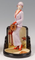 Lot 4 - Peggy Davies Ceramics - La Chic, modelled by...