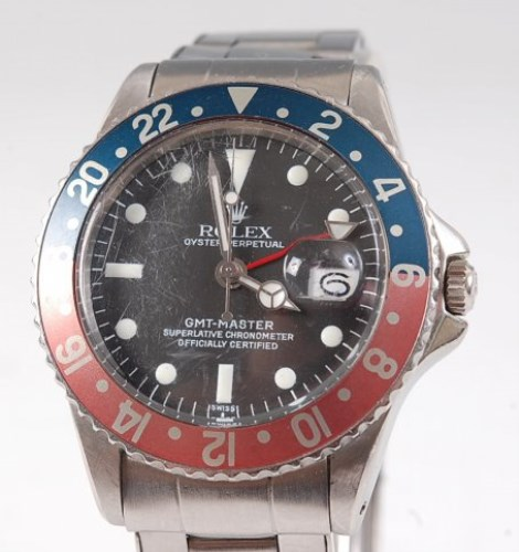 Lot 1283 - A gents Rolex Oyster Perpetual GMT Master...