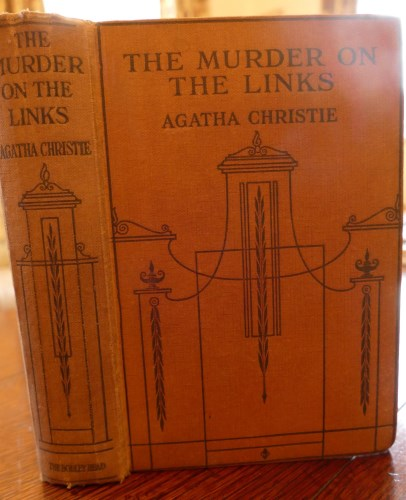 Lot 1064-CHRISTIE, Agatha, The Murder on the Links, London ...