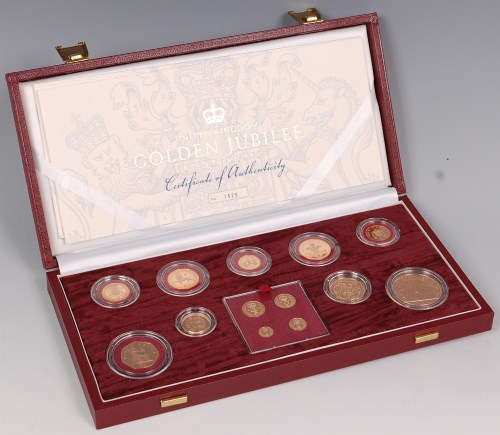 Lot 166-Great Britain, cased Royal Mint 2002 Golden...