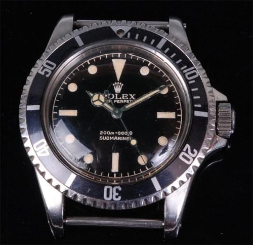 Lot 1280-A rare gentlemans stainless steel Rolex Oyster...