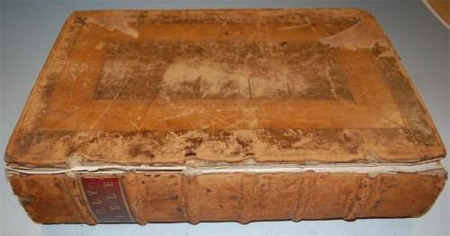 Lot 1059-BIBLE (Geneva version), London, Robert Barker...