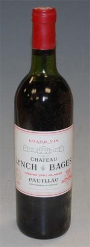 Lot 501-Château Lynch Bages, 1982, Pauillac, 12 bottles,...