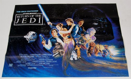 Lot 3237-Star Wars Return Of The Jedi (1983), British...
