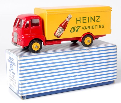 Lot 1975 - Dinky, 920 Guy van 'Heinz', rare issue, Guy...