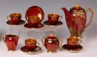 Lot 8 - A 1930s Carltonware Rouge Royale pattern...