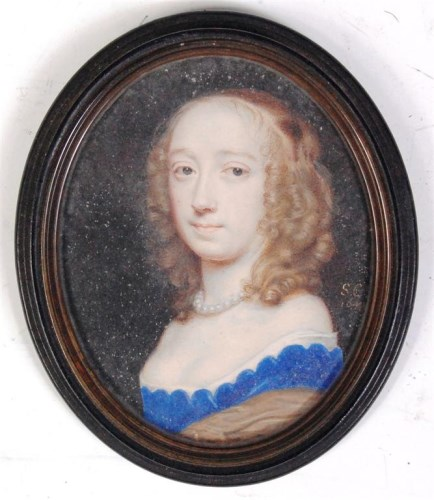 Lot 288-Samuel Cooper (1609-1672) - Portrait miniature...