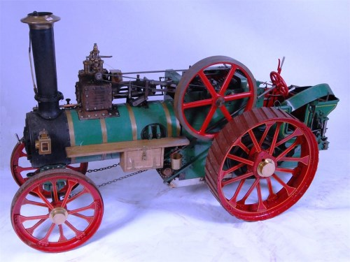 "Lot 145-To drawings from Bill Newcombe steam models, 4""..."