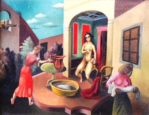 Lot 240-Leslie Roy Hobdell (1911-1961) - Surrealist...