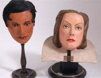 Lot 249 - Angus McBean - pedestal masks of Ivor Novello...