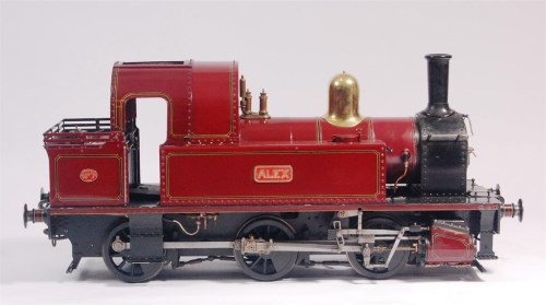 Lot 137-7¼ inch gauge modified Bridget and named 'Alex' 0-...
