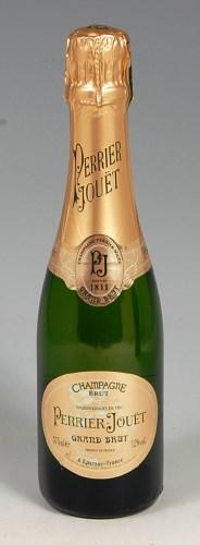 Lot 42-Perrier-Jouet Grande Brut, 12 half bottles