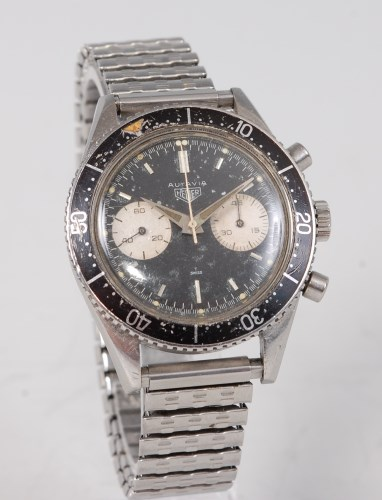Lot 2164 - An extremely rare gentlemans stainless steel...