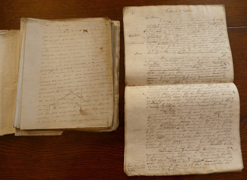 Lot 2010-Box; Alfred Swaine Taylor manuscript lecture...