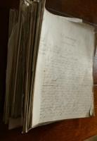 Lot 2026 - Box; large quantity of Taylor's manuscript...