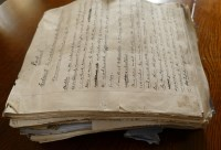 Lot 2027 - Box; large quantity of Taylor's manuscript...
