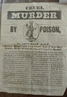 Lot 2029 - An 1841 handbill relating to the murder of...