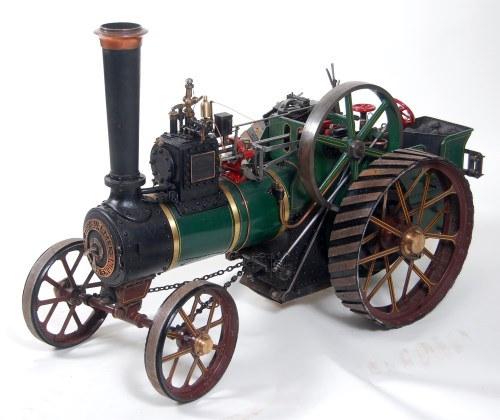 Lot 8-Live steam finely built and finished BURRELL 2...