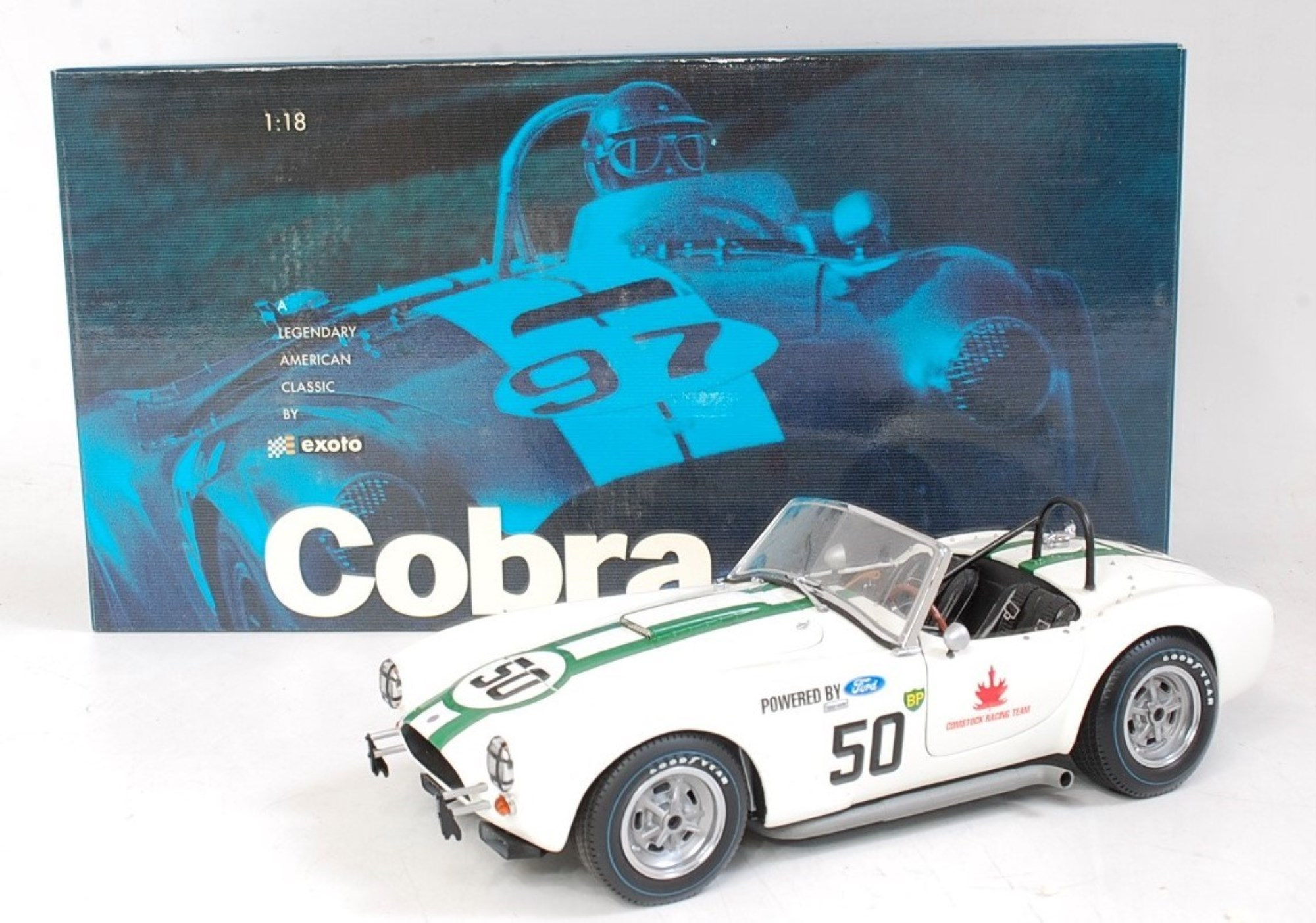 Lot 2710 - An Exoto Racing Legends 1/18 scale model of