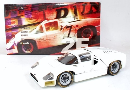 Lot 2715 - An Exoto Racing Legends 1/18 scale model of