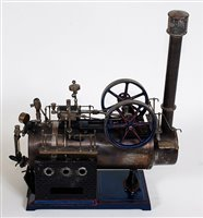 Lot 5-DOLL et CIE early 20th Century stationary steam...