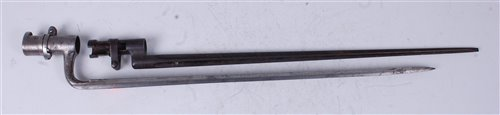 Lot 8-An Imperial Russian Mosin-Nagant M1891 bayonet,...