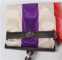 Lot 304-A George V Military Cross group of five plus...