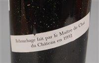 Lot 1001-Château Lafite Rothschild 1953 Pauillac, one...