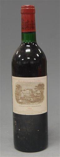 Lot 1004-Château Lafite Rothschild 1983 Pauillac, one...