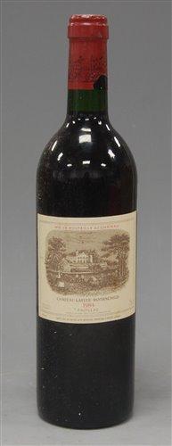 Lot 1005-Château Lafite Rothschild 1984 Pauillac, one...