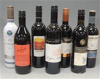 Lot 1024-Assorted Australian red wines , to include...