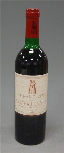 Lot 1026-Château Latour 1979 Pauillac, one bottle