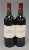 Lot 1027-Château Margaux 1983 Margaux , two bottles