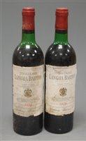 Lot 1028-Château Langoa Barton 1978 Saint Julien , two...