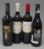 Lot 1036-Assorted red table wines, to include Château...