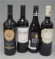 Lot 1038-Assorted table wines , to include Domaine Saint...