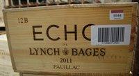 Lot 1044-Echo du Lynch-Bages 2011 Pauillac, twelve bottles ...