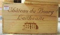 Lot 1046-Château du Bourg Laithwaite 2000 Bordeaux, twelve ...