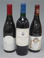 Lot 1021-Château du Sours 1987 Bordeaux , one bottle;...