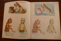 Lot 2003-WAIN, Louis, Cats and Dogs Painting Book of...