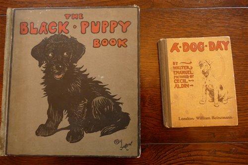 Lot 2010-ALDIN, Cecil, The Black Puppy Book, London 1909,...