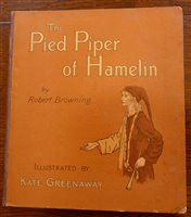 Lot 2012-GREENAWAY, Kate, The Pied Piper of Hamelin,...