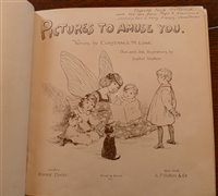Lot 2015-Moveable Book, Pictures to Amuse You, A Book of...